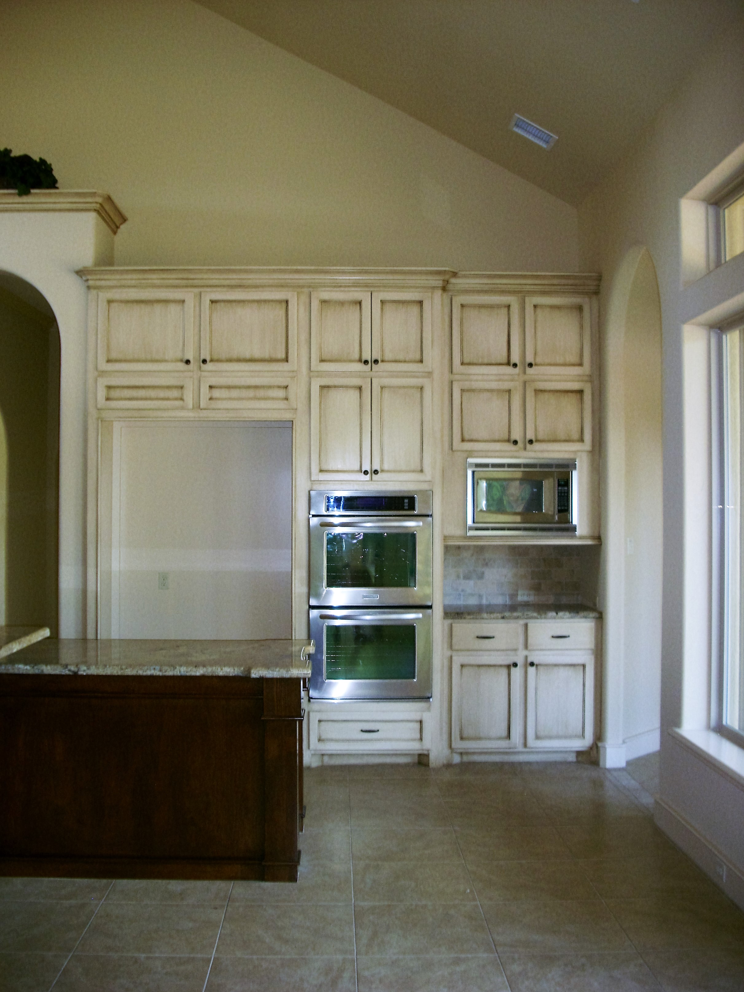 custom hand painted kitchen cabinets houston 832 257 9285